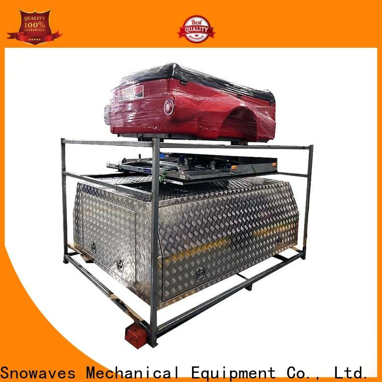 Snowaves Mechanical box aluminum trailer tool box suppliers for camping