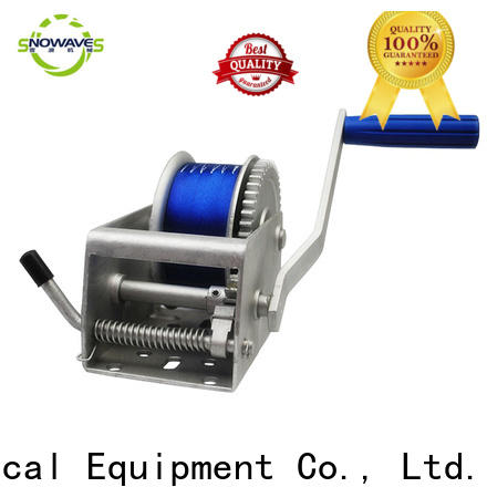 Snowaves Mechanical High-quality marine winch suppliers for one-way trips