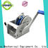 Top manual winch speed factory for car