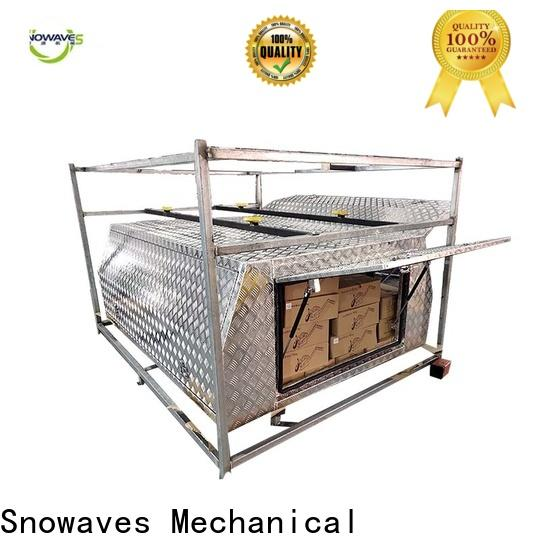 Snowaves Mechanical New aluminum truck tool boxes suppliers for picnics