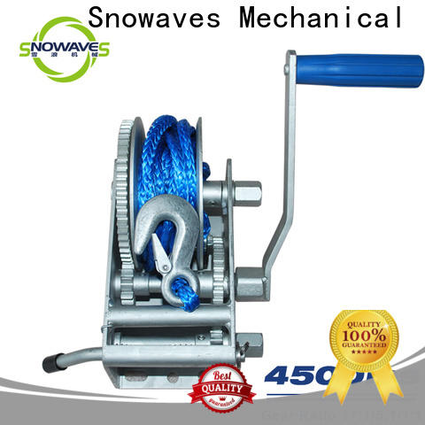 Snowaves Mechanical Top marine winch manufacturers for camping