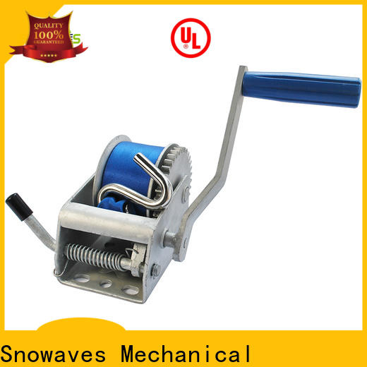 Snowaves Mechanical trailer hand winches for business for boat