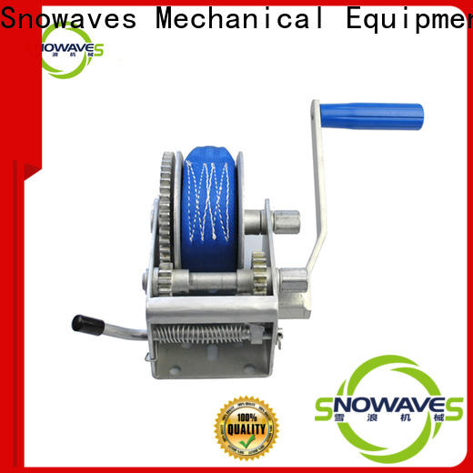 Snowaves Mechanical speed hand winches supply for outings