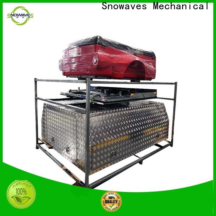 Snowaves Mechanical box aluminum trailer tool box company for picnics