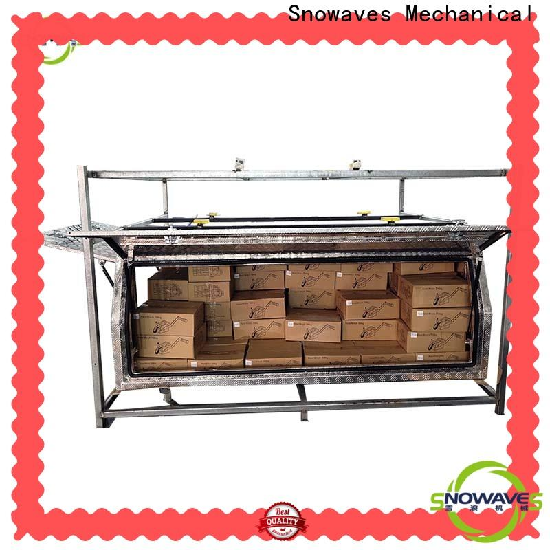 Snowaves Mechanical tool aluminium tool box for sale for camping