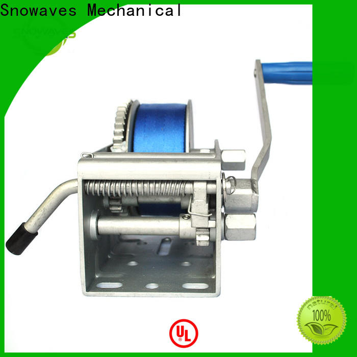 Snowaves Mechanical New marine winch supply for camping