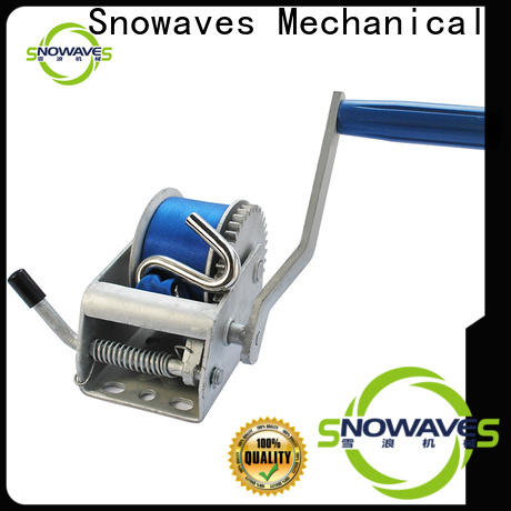Snowaves Mechanical boat hand winch for sale for camping