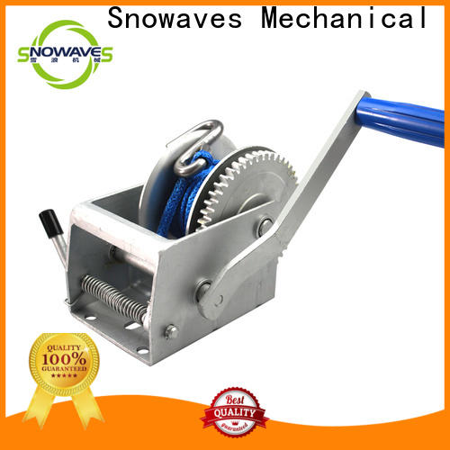 Snowaves Mechanical Wholesale hand winches suppliers for outings