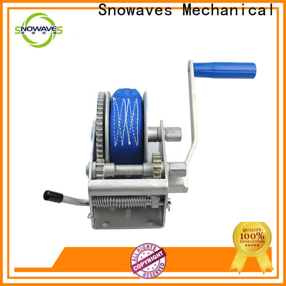Snowaves Mechanical High-quality hand winches company for picnics