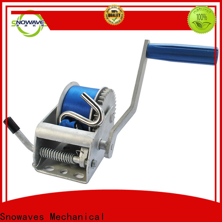New manual trailer winch trailer suppliers for camping