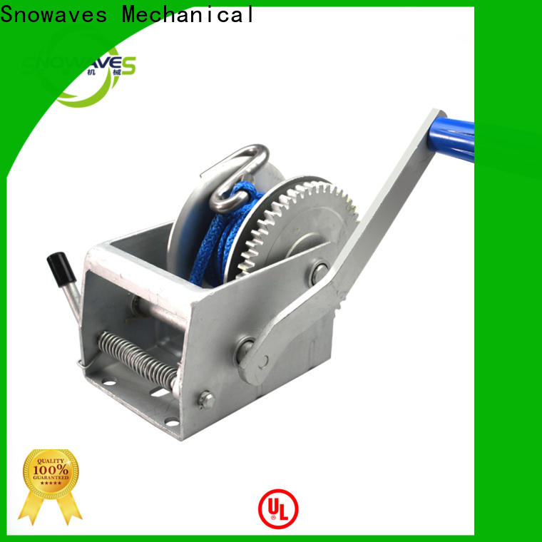 Snowaves Mechanical manual winch for sale for camping
