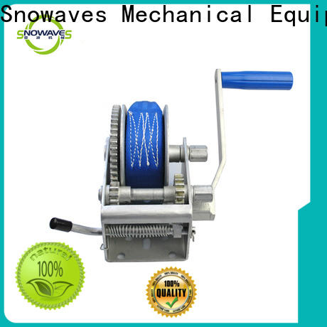 Snowaves Mechanical High-quality boat hand winch for business for boat