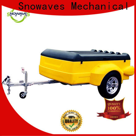 Snowaves Mechanical New plastic utility trailer suppliers for outdoor activities