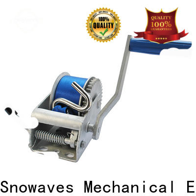 Latest manual winch winch manufacturers for camping