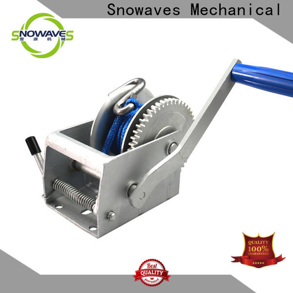 Best manual trailer winch single supply for boat