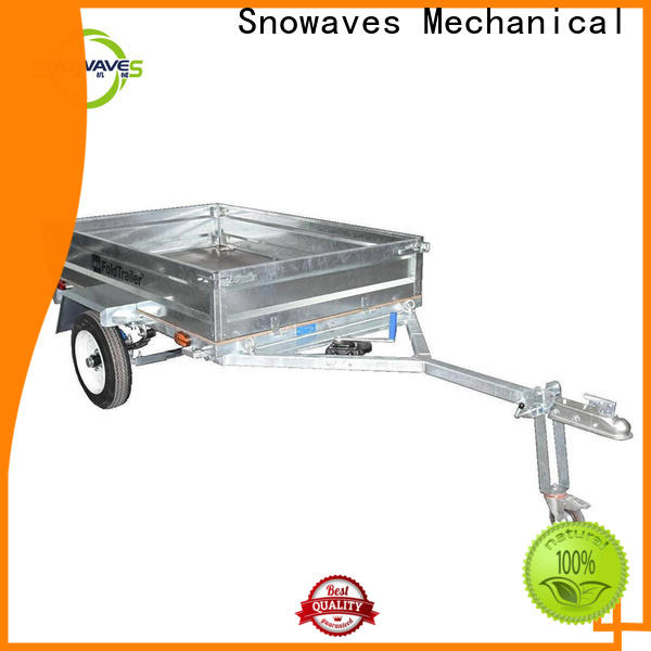 Snowaves Mechanical data fold up trailer supply for one-way trips