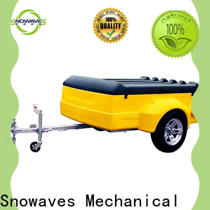 Snowaves Mechanical lldpe luggage trailer factory for outdoor activities