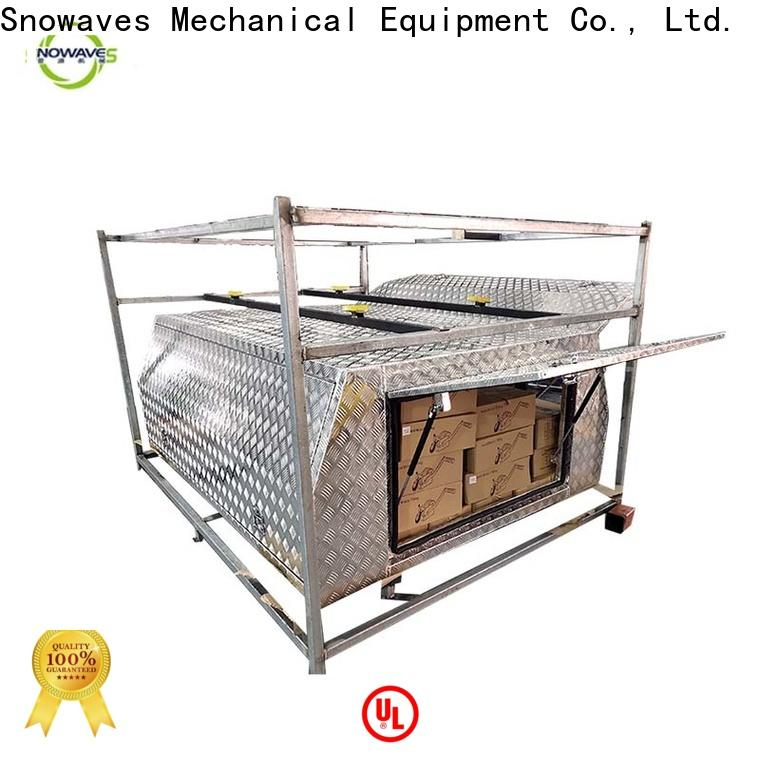 Snowaves Mechanical Best aluminum truck tool boxes suppliers for camping