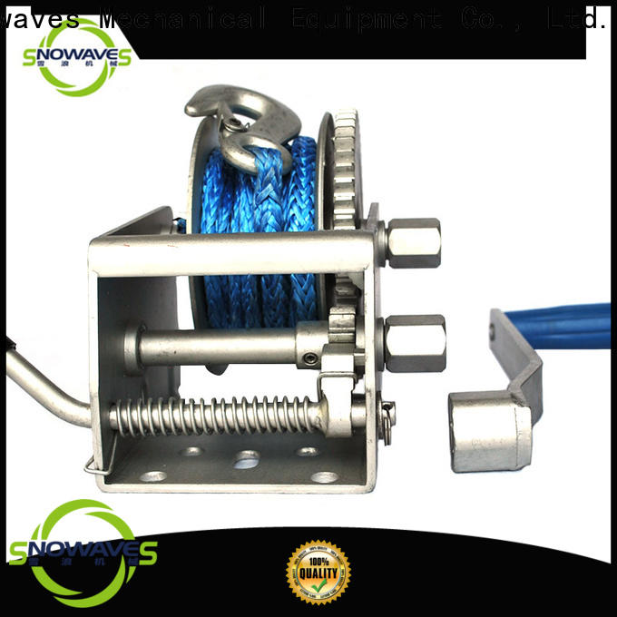 Snowaves Mechanical marine winch for sale for camping