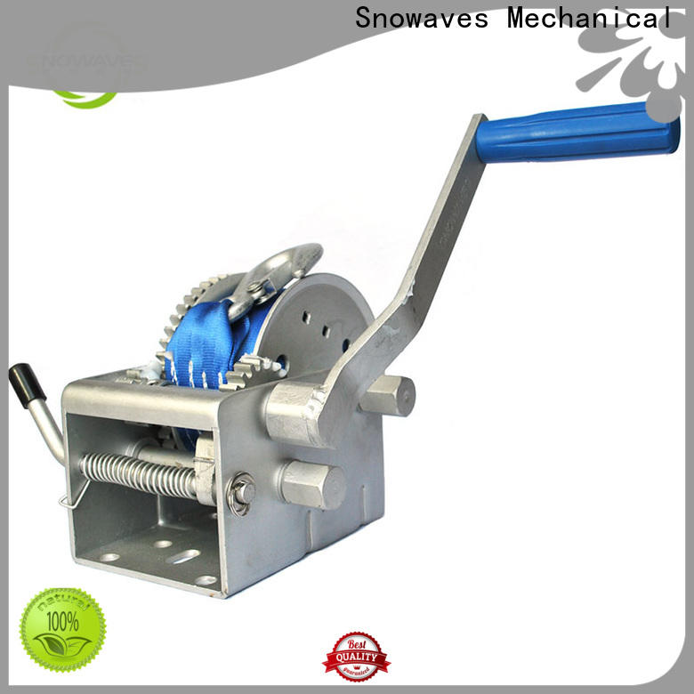 Snowaves Mechanical Custom marine winch for business for trips