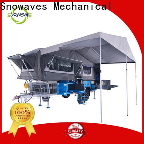 Snowaves Mechanical camper folding trailers factory for activities