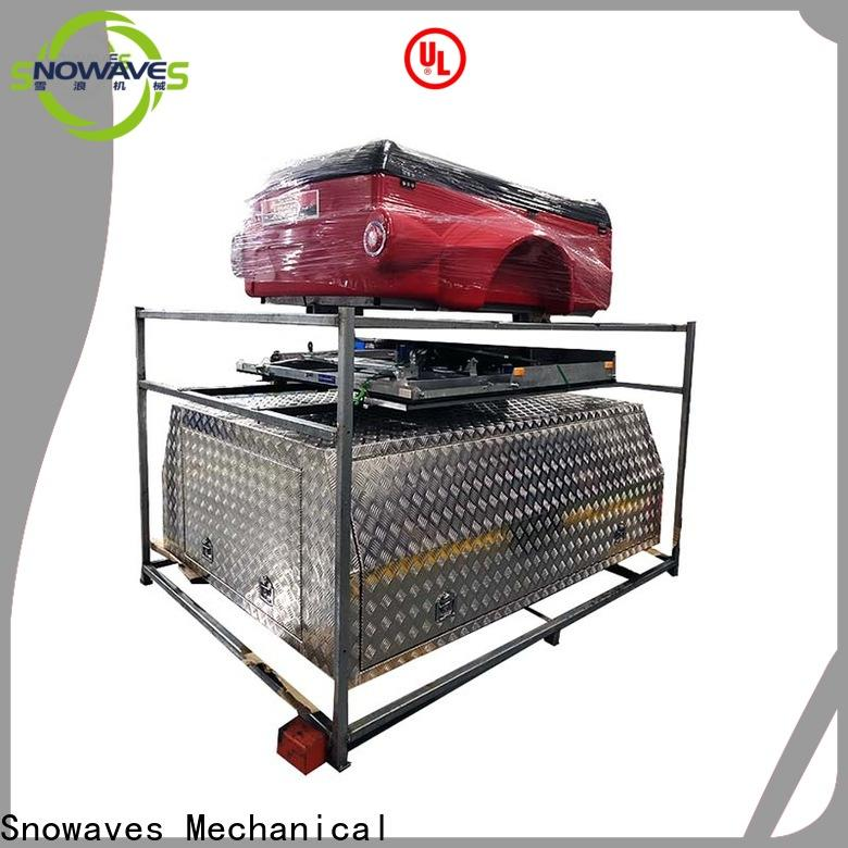 Snowaves Mechanical box custom aluminum tool boxes manufacturers for camping