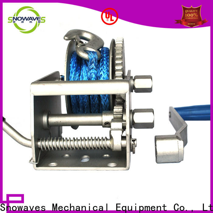 Snowaves Mechanical Top marine winch supply for camping