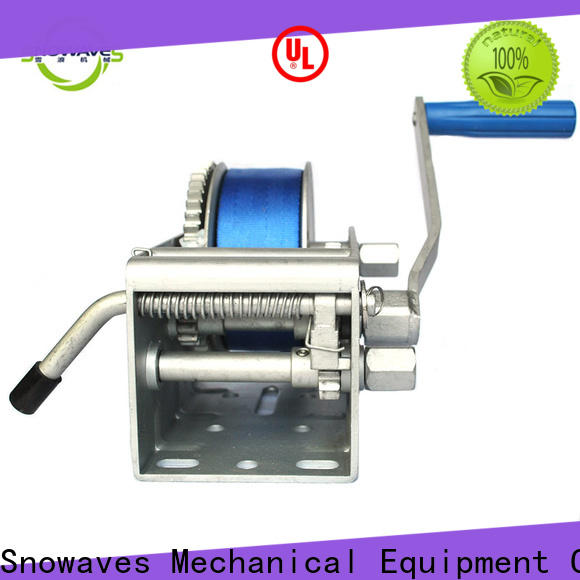 Snowaves Mechanical New marine winch manufacturers for trips