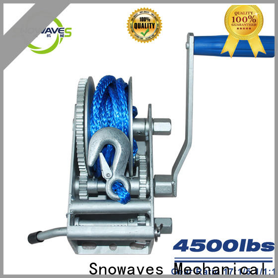 Snowaves Mechanical pulling marine winch company for one-way trips
