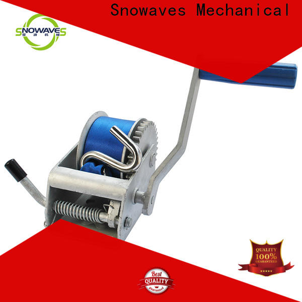 Snowaves Mechanical single hand winches for sale for boat