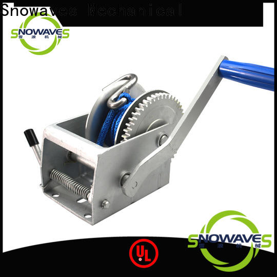 Snowaves Mechanical Best manual trailer winch company for camping
