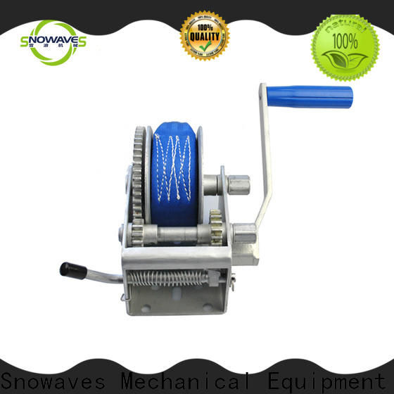 Snowaves Mechanical Best manual winch for sale for car
