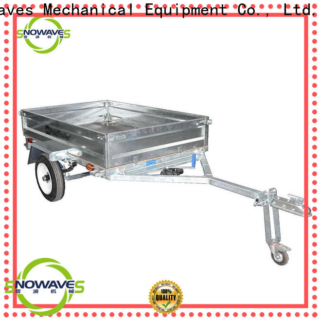 Snowaves Mechanical technical foldable trailer supply for trips