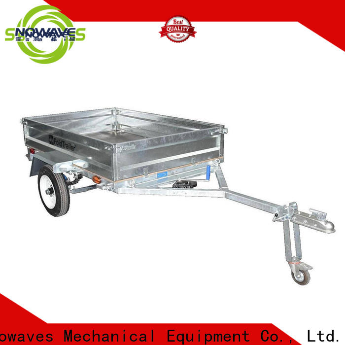 High-quality folding trailers forward for business for accident