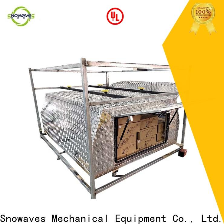 Snowaves Mechanical Top aluminium tool box suppliers for camping