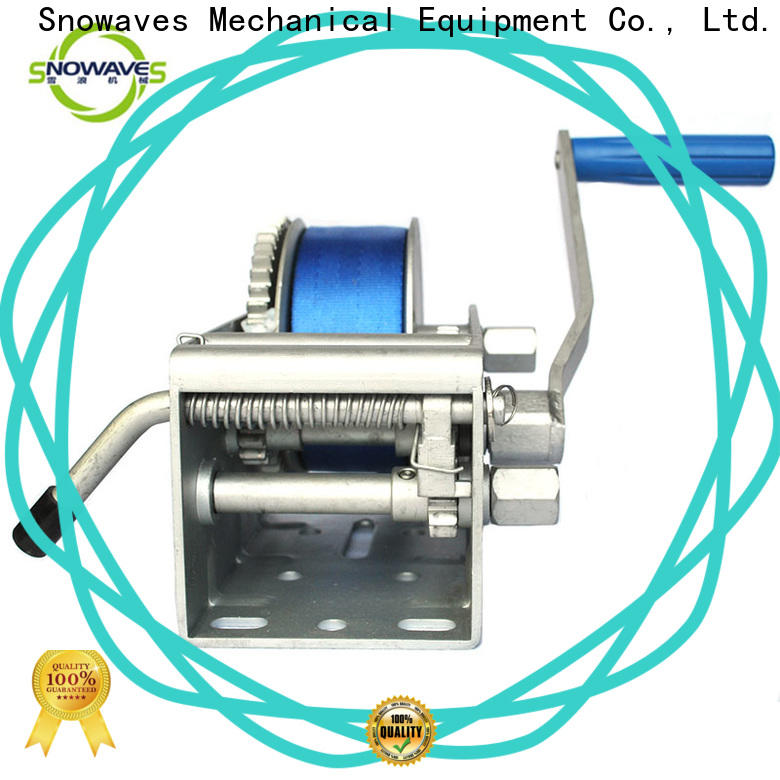 Snowaves Mechanical winch marine winch for sale for one-way trips
