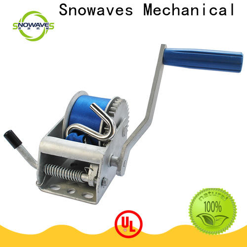 Best manual winch single supply for camping