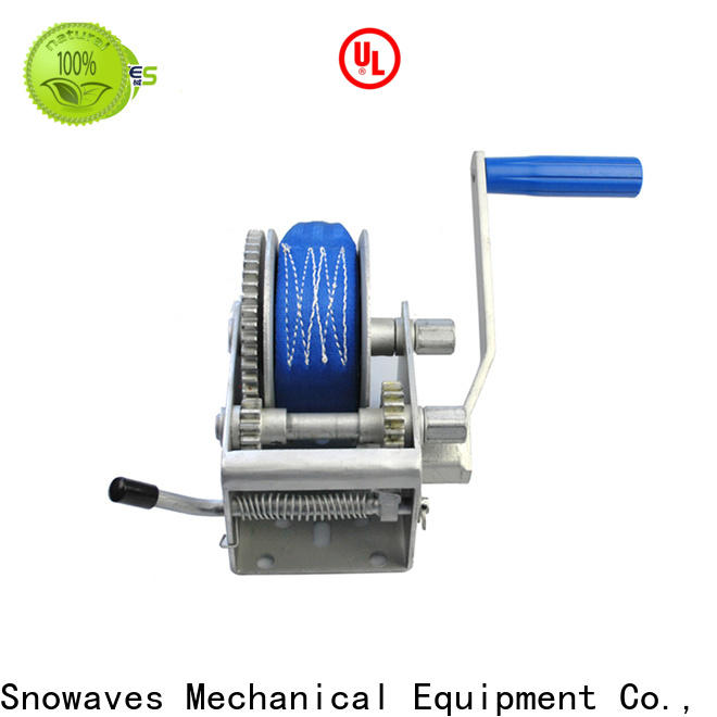 Snowaves Mechanical Latest manual trailer winch for sale for car