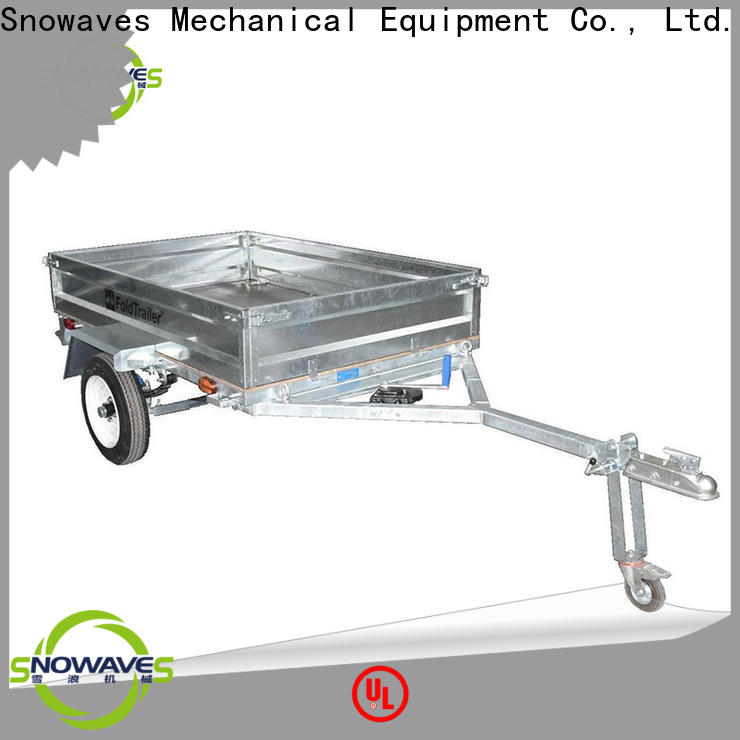 Snowaves Mechanical New folding trailers for business for activities