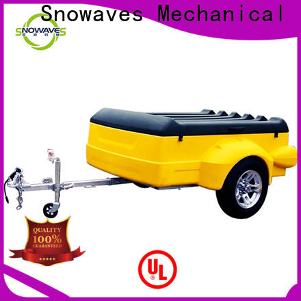Snowaves Mechanical Top luggage trailer suppliers for outdoor activities
