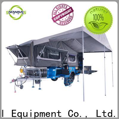 Snowaves Mechanical camper fold up trailer manufacturers for trips