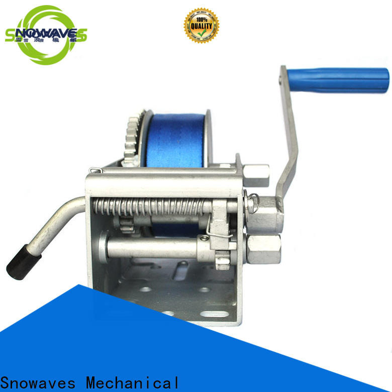 Latest marine winch hand factory for one-way trips