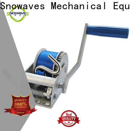 High-quality hand winches speed suppliers for outings