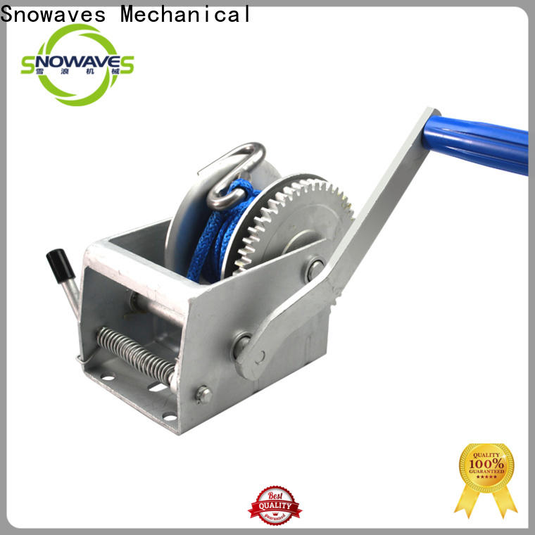 Snowaves Mechanical Latest manual winch company for boat