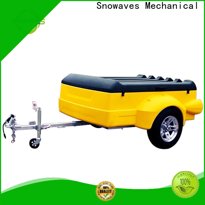 Wholesale plastic utility trailer supply for no cable