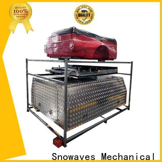 Snowaves Mechanical New aluminum truck tool boxes factory for boat