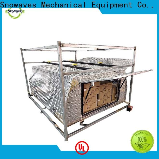 Snowaves Mechanical pickup aluminum truck tool boxes company for car