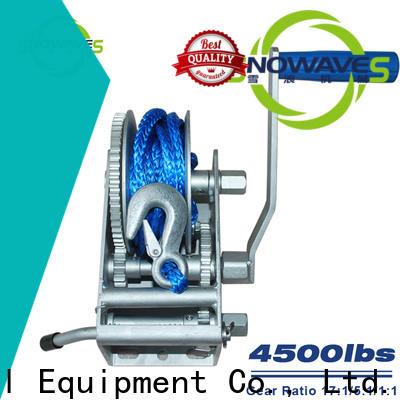 Snowaves Mechanical Wholesale marine winch for sale for camping