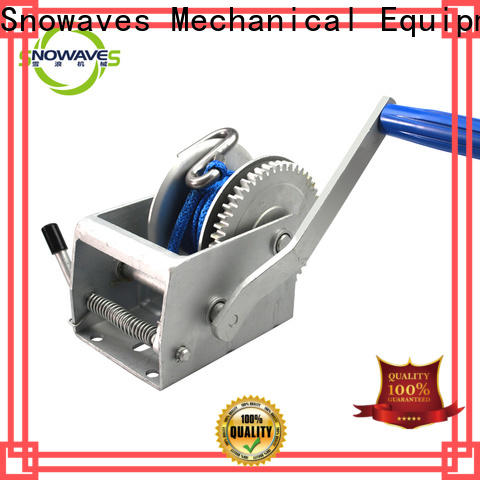 High-quality manual winch winch supply for boat