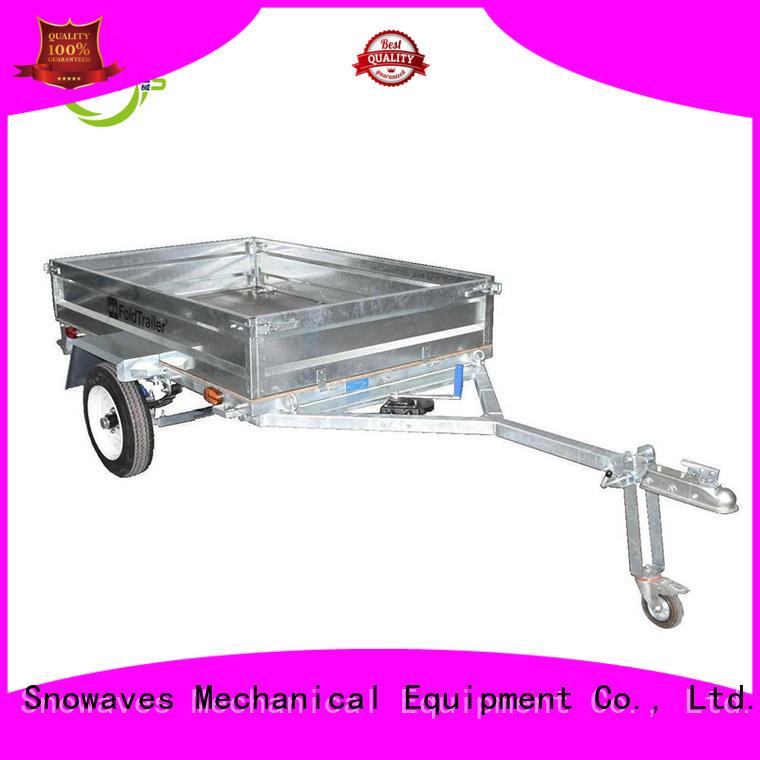 Quality Snowaves Mechanical Brand data folding trailers